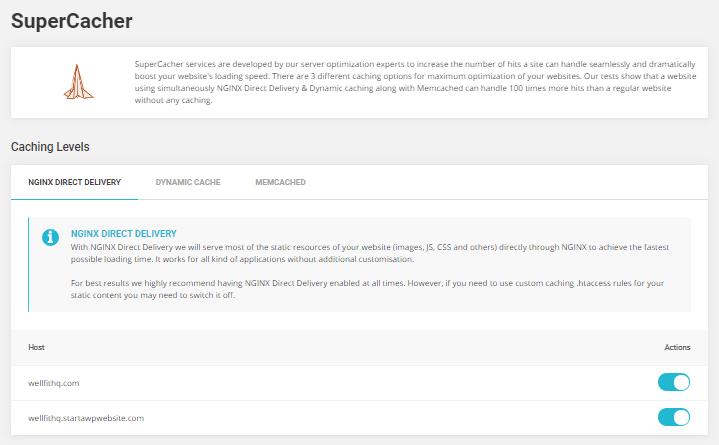 SiteGround NGINX Delivery