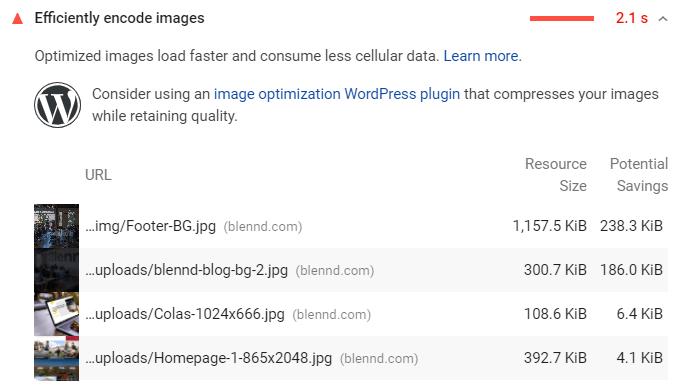 Efficiently Encode Images In WordPress