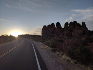 Cool shot in Arches National Park