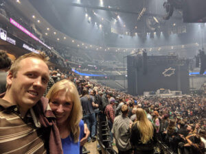 Third time Mom and I saw Tool