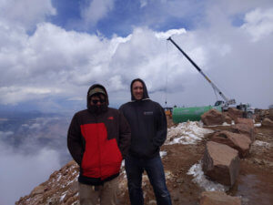 Top of Pikes Peak With Homie Rob
