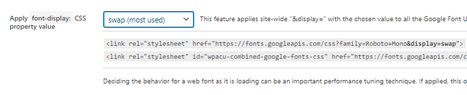 Ensure text remains visible during webfont load - Asset Cleanup