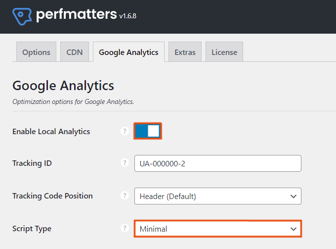 Host Google Analytics Locally With Minimal Tracking Code