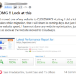 Moved To Cloudways
