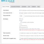 Breeze Basic Options