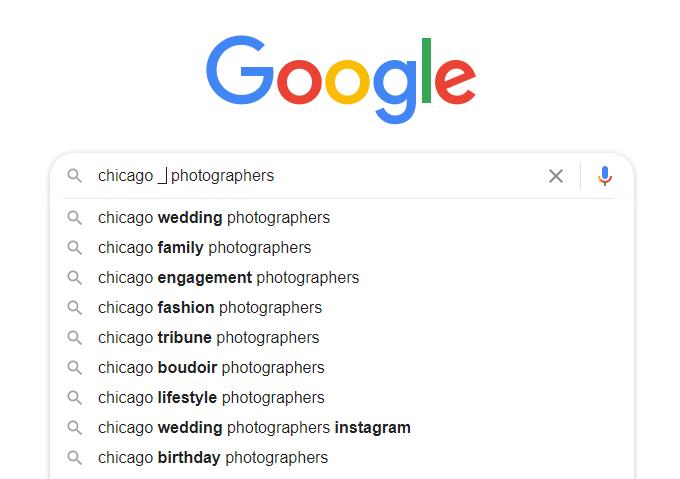 Google Autocomplete Keywords