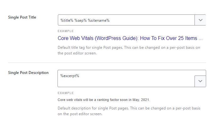 Rank Math Post SEO Title