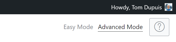 Rank Math Advanced Mode